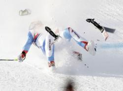 schumacher caduta sci