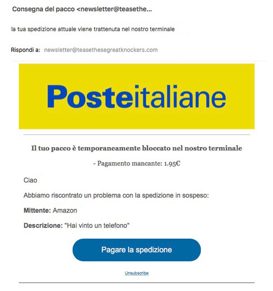 phishing poste