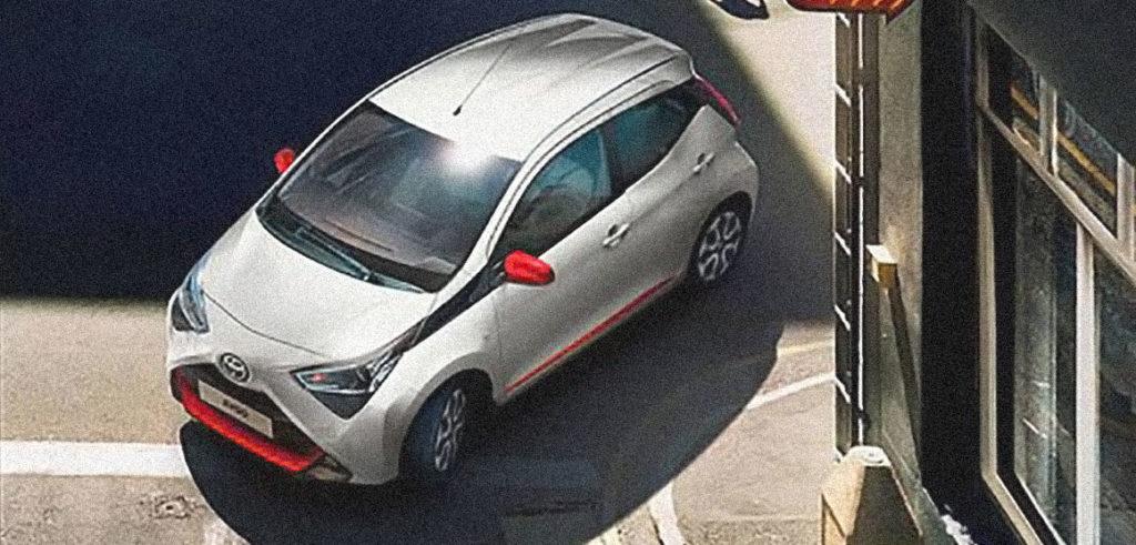 automobile usata Toyota Aygo economica