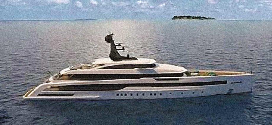 superyacht Azteca Argentario Messico