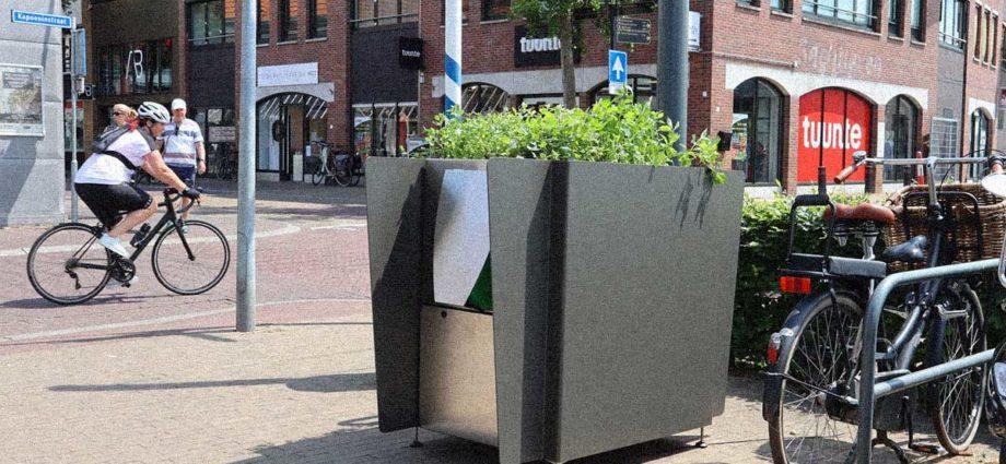 orinatoio finta fioriera Amsterdam Olanda