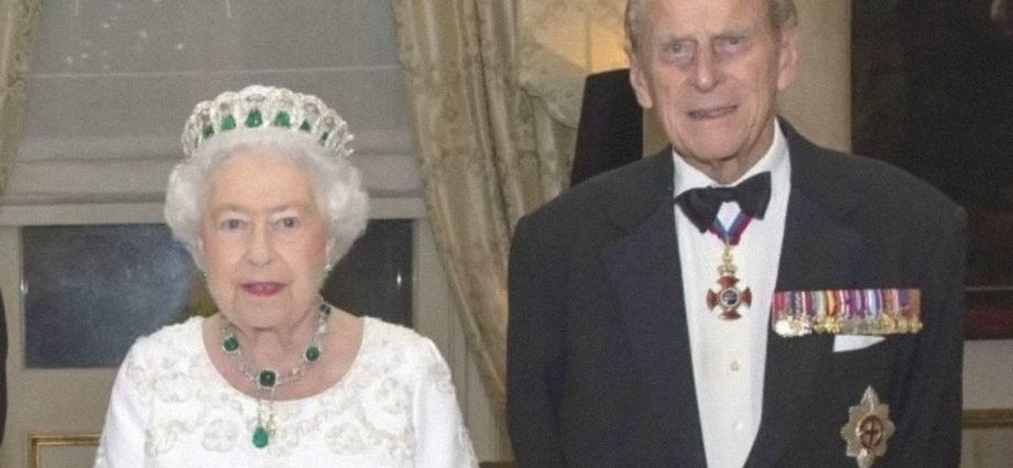 Filippo d'Inghilterra e Regina Elisabetta