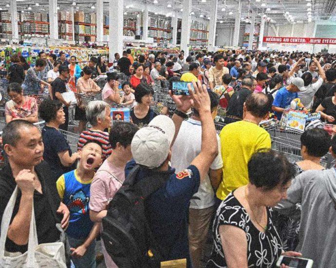 punto vendita Costco Shangai Cina