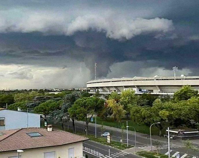 tornado a Verona