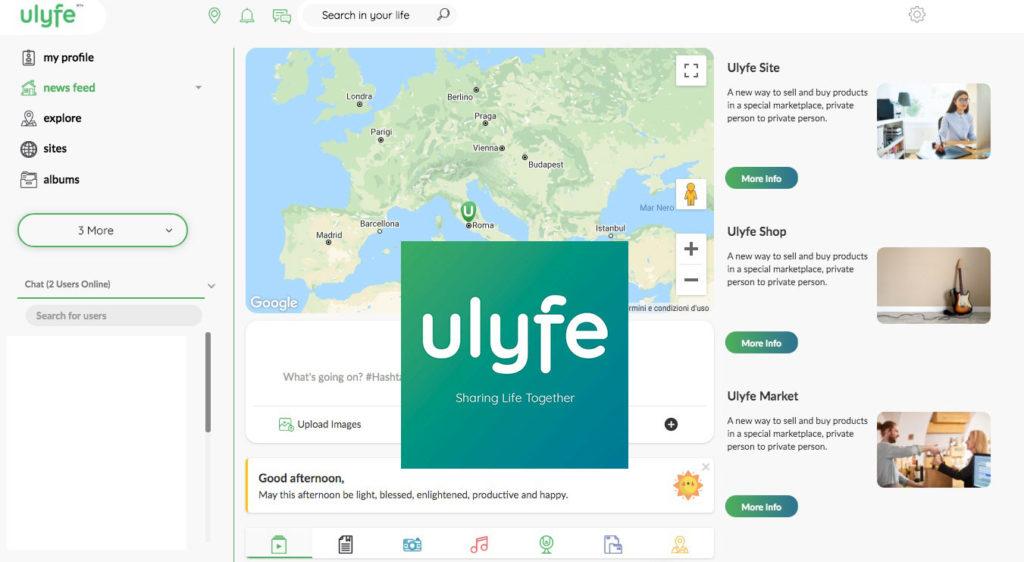 Ulyfe social network