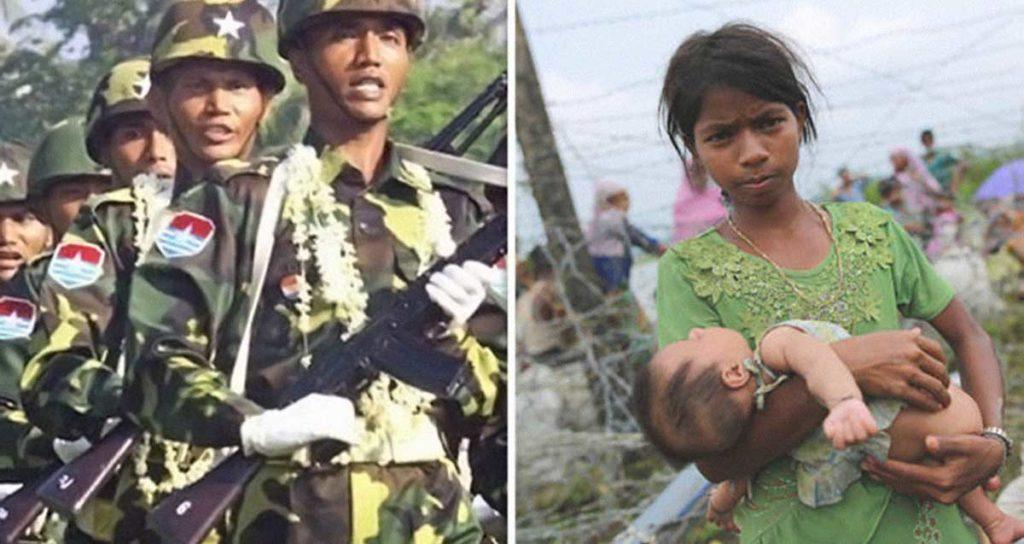 Myanmar soldati uccidono bambino