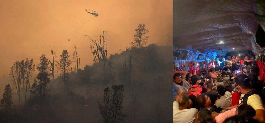 California incendio evecuati