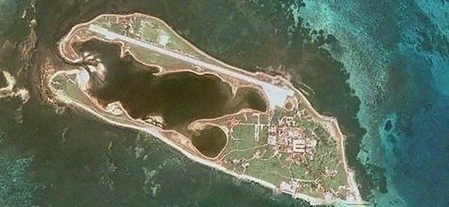 isole Dongsha Taiwan Cina