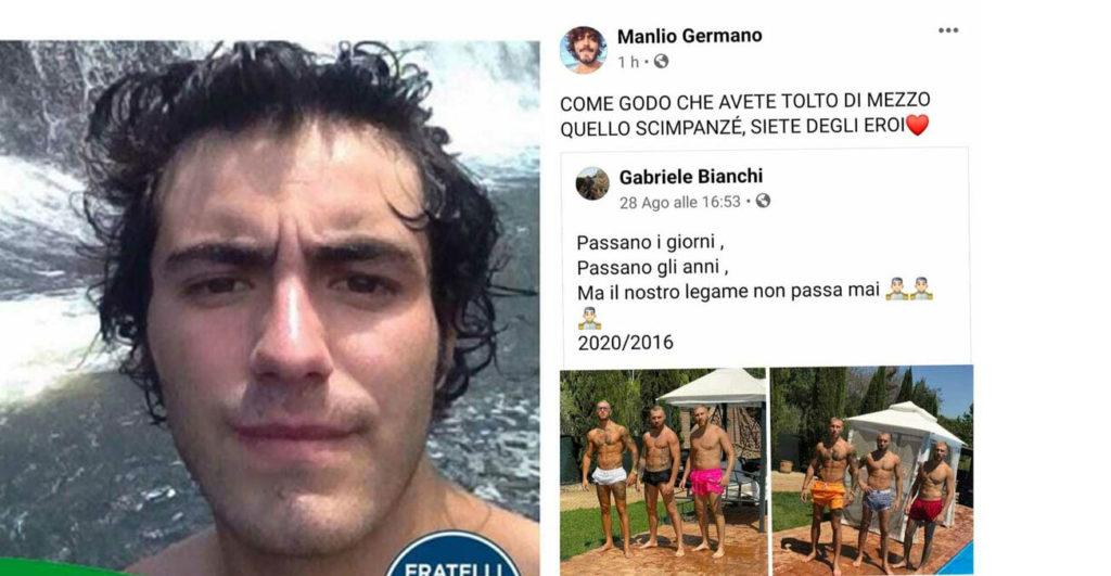 Manlio Germano fake account facebook