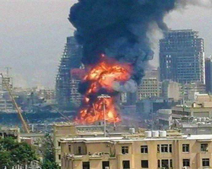incendio Beirut