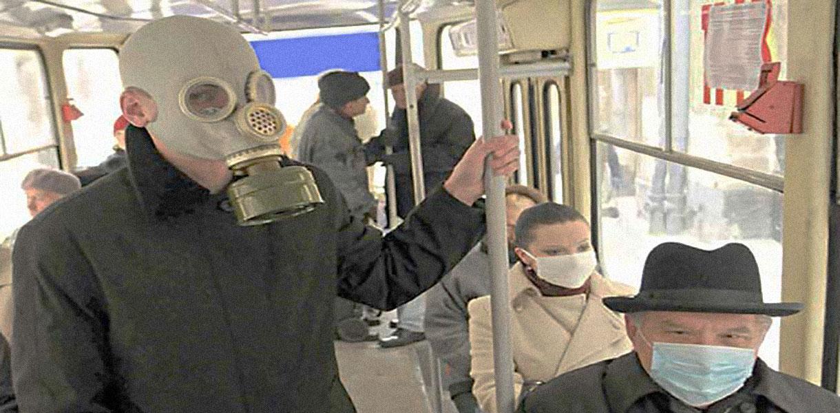autobus mascherine contagio covid-19