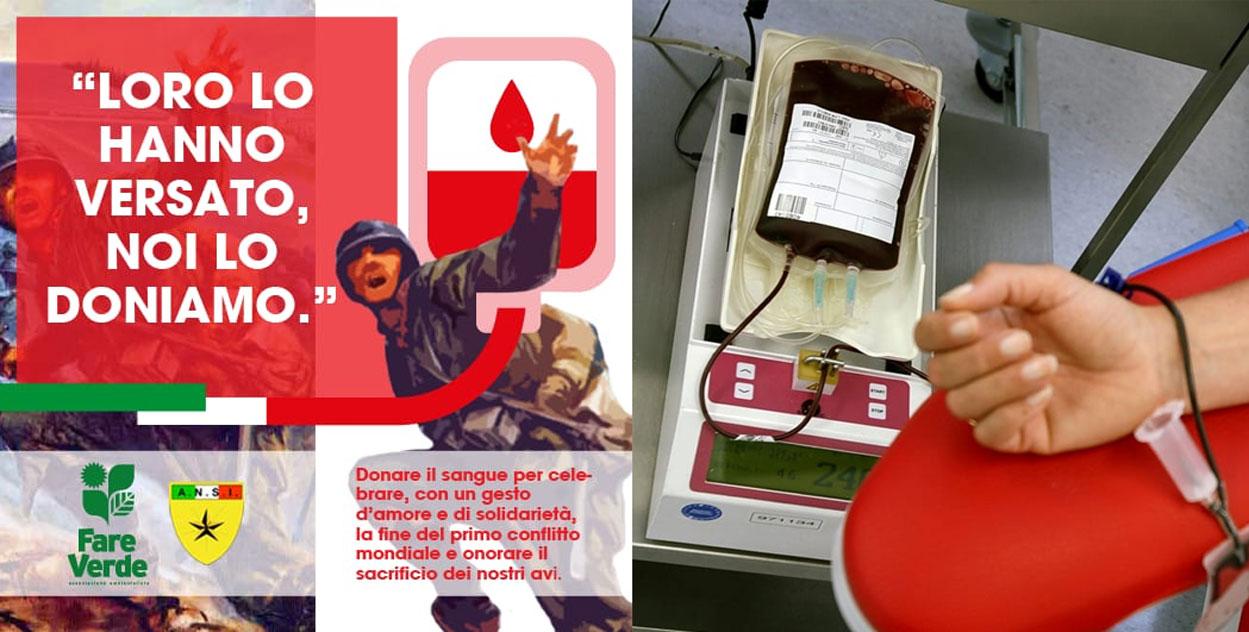 fare verde donare sangue