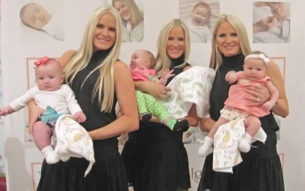 tre piccole bambine