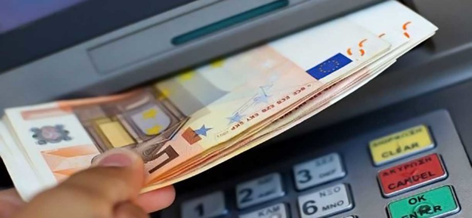 Bancomat prelievo contanti