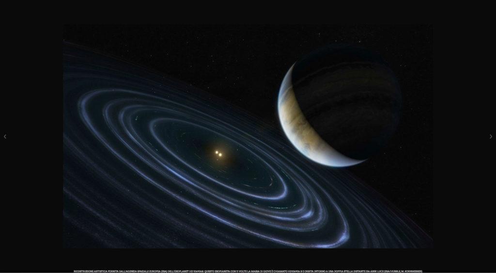 esopianeta pianeta X