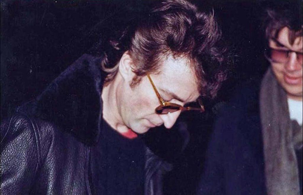 L'ultima foto di John Lennon