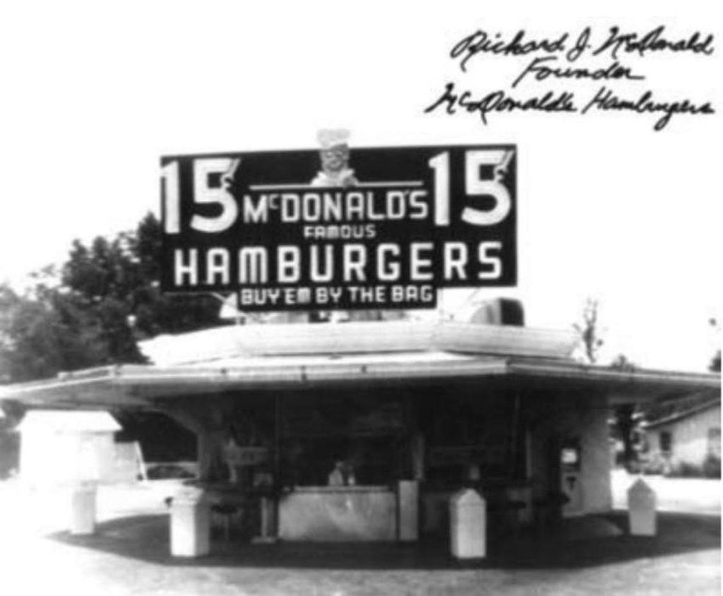 Il primo negozio McDonald's
