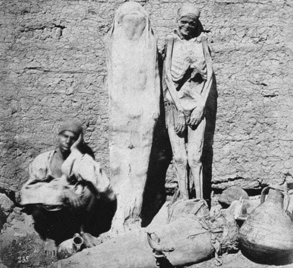 mummie in vendita