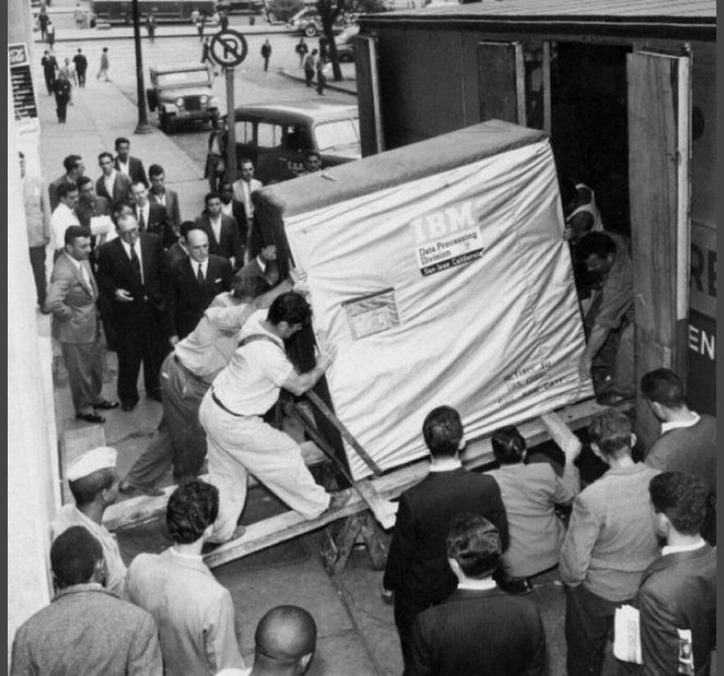 5 MB di spazio di archiviazione, 1956
