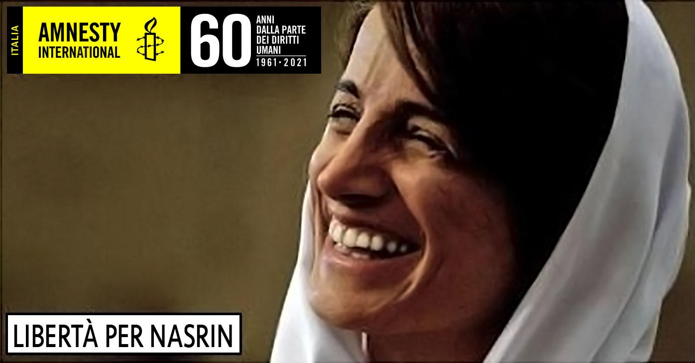 libertà per Nasrin Amnesty International